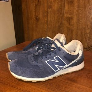 New Balance 696 Sneakers Blue Size 8